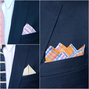 3 Quick and Dapper Pocket Square Folds