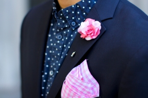 4 Simple Guidelines to Matching a Pocket Square and a LapelPin